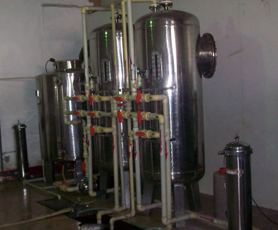 1-100T 软化水处理设备