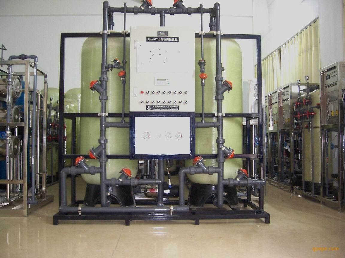 自来水预处理多介质过滤器