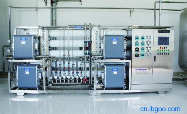 LED行业EDI高纯水设备